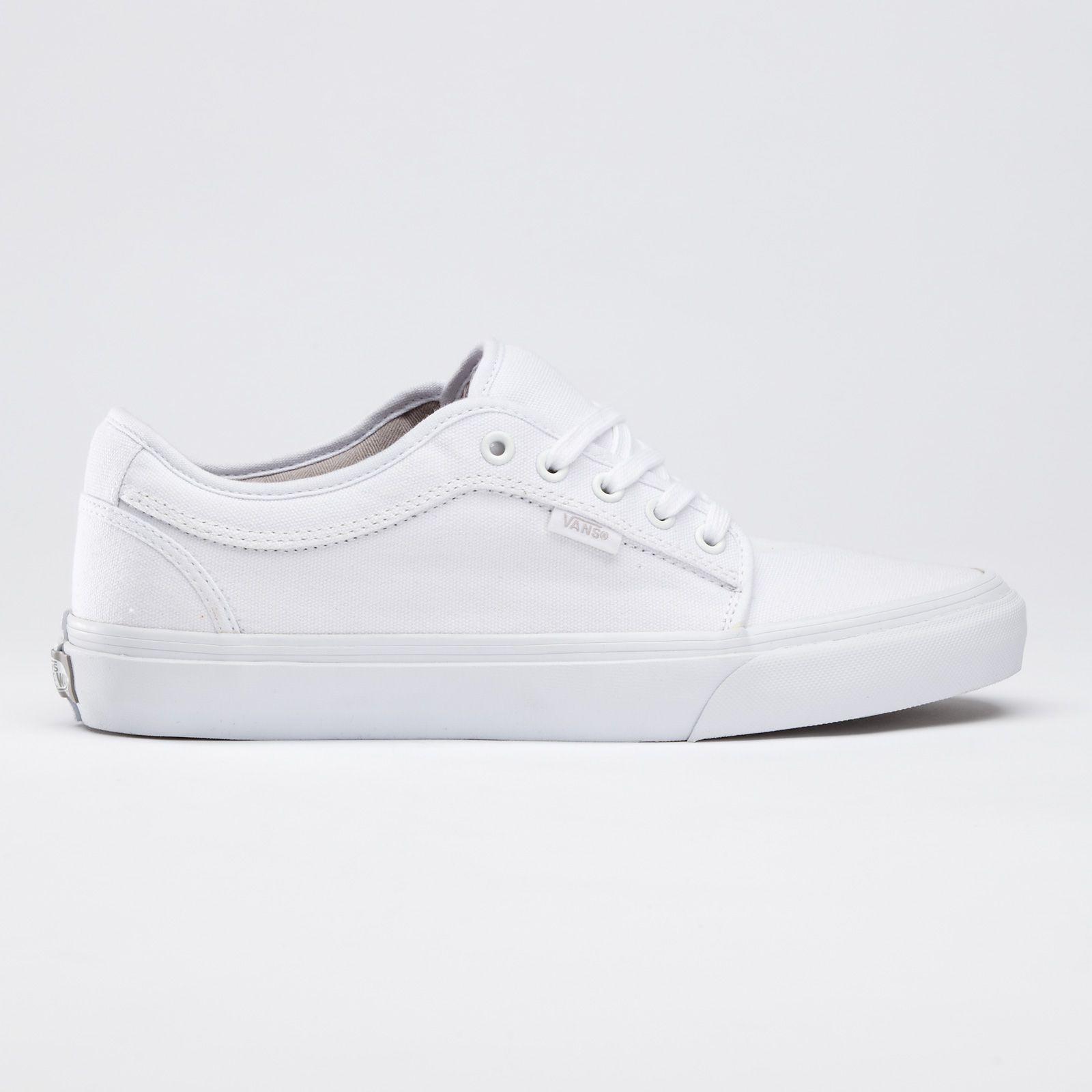vans chukka white