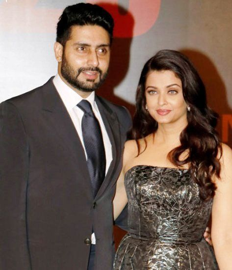 Aishwarya Rai With Her Husband Abhishek Bachchan Celebs Aishwarya Rai Strapless Dress Formal