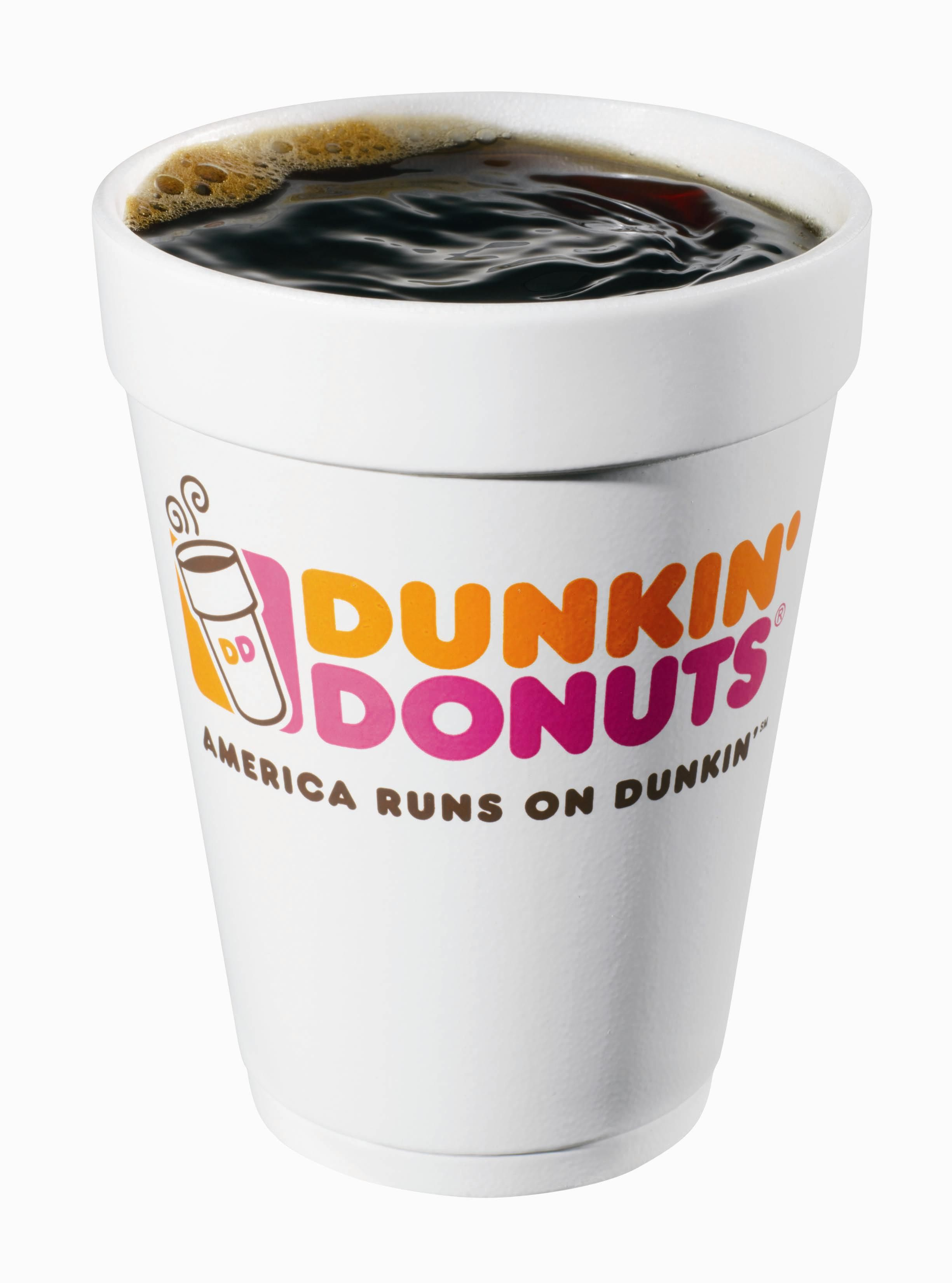 Dunkin Donuts Coffee.....pure happiness. Best coffee