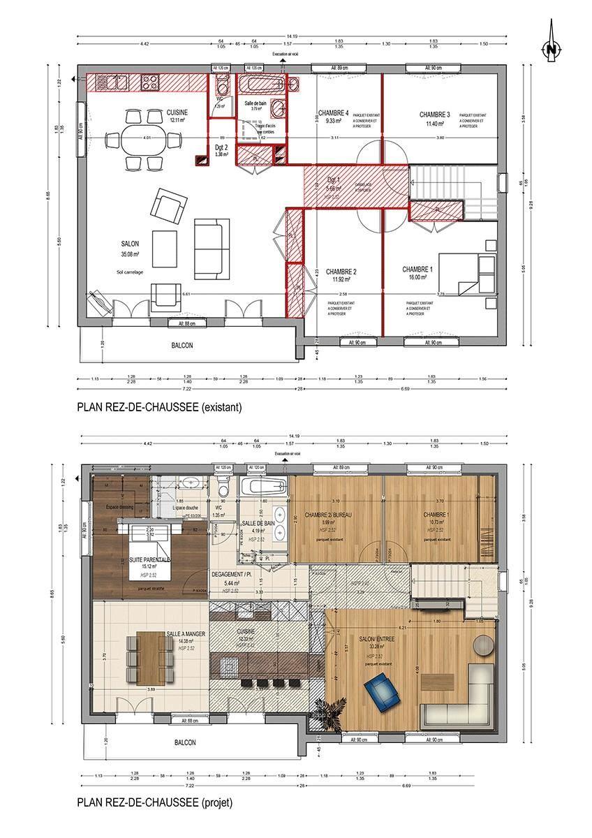 Maison Plan Favier Good Company Floor Plans How To Plan