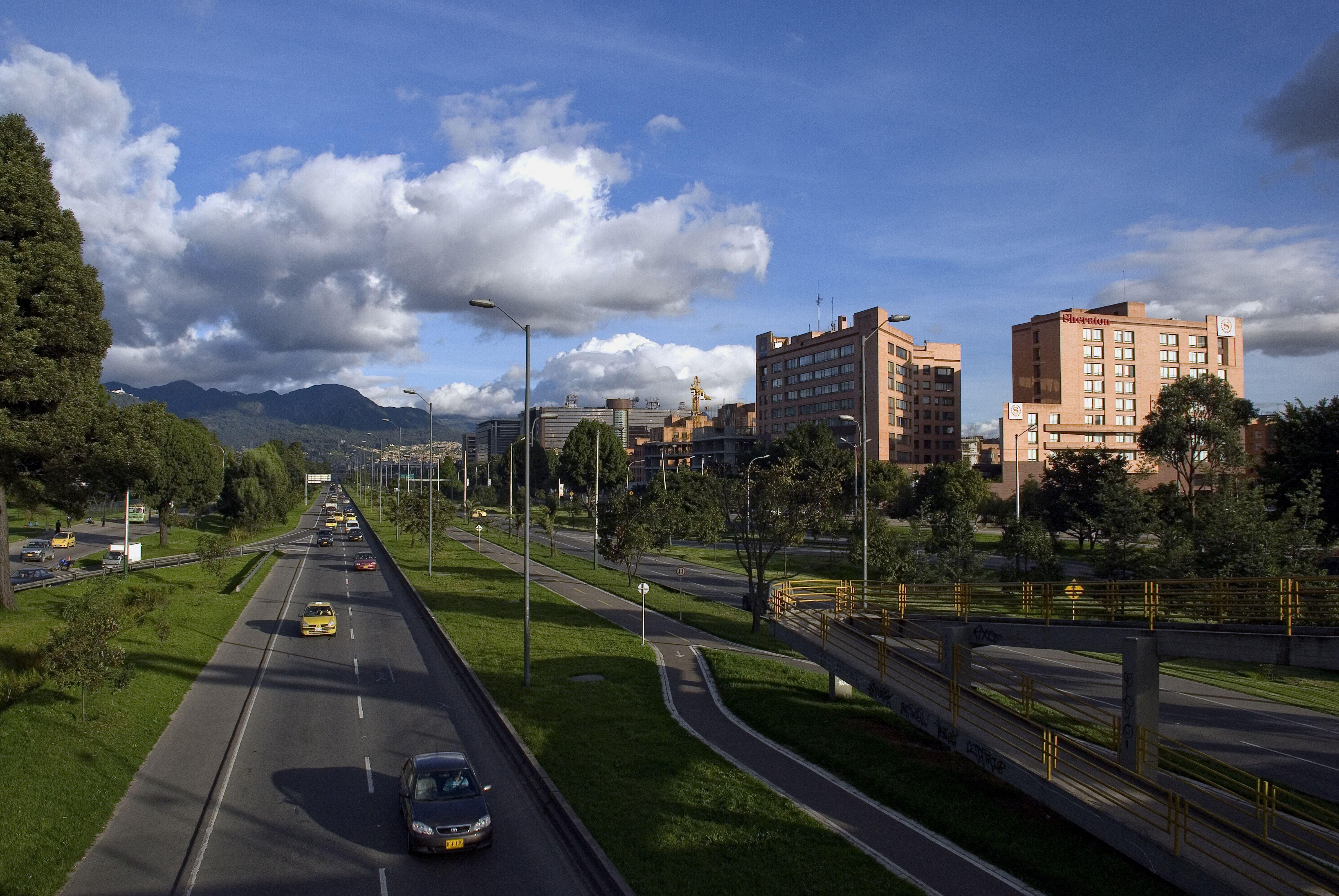 Calle 26 Avenida el Dorado Foto: Germán Montes