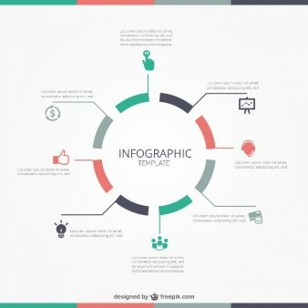 timeline infographic template vector free download design