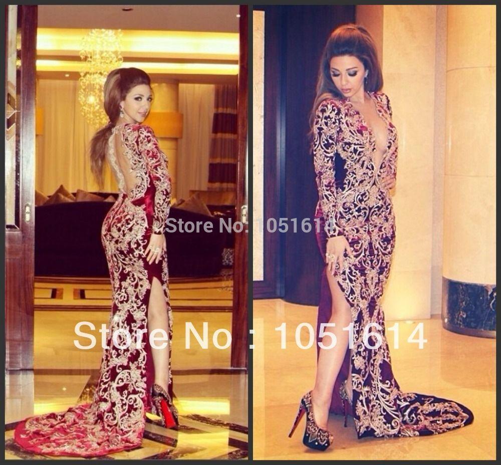 Robe soiree libanaise haute couture
