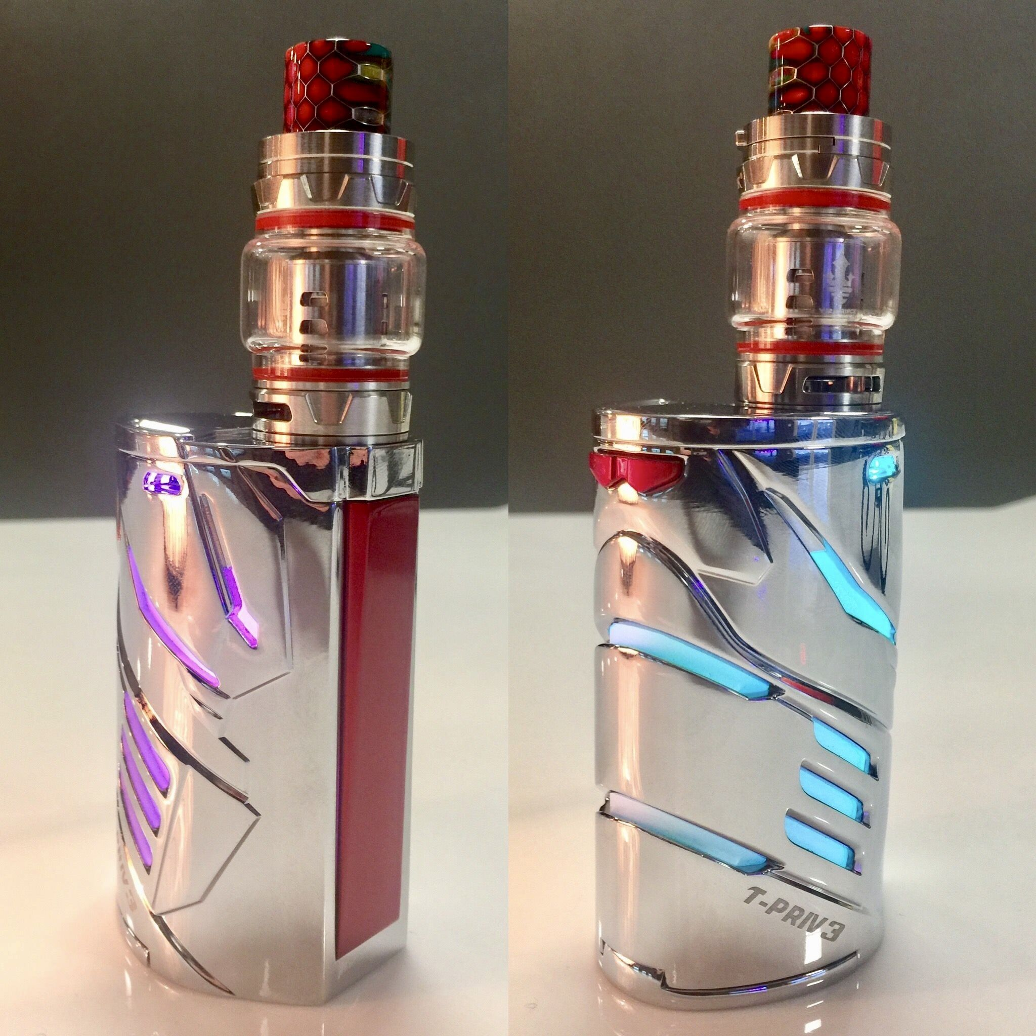 The SMOK T-Priv 3 in Chrome is here and absolutely mesmerizing to