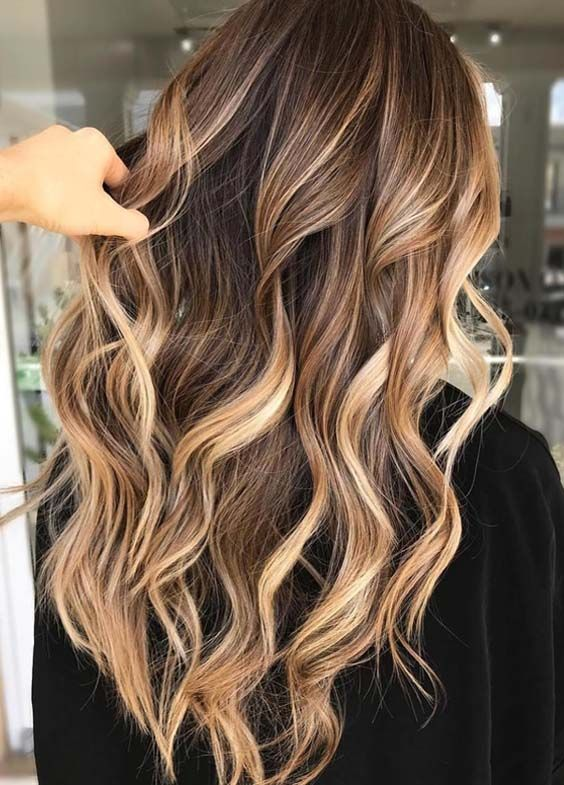 47 stunning ideas of brunette balayage highlights in 2018
