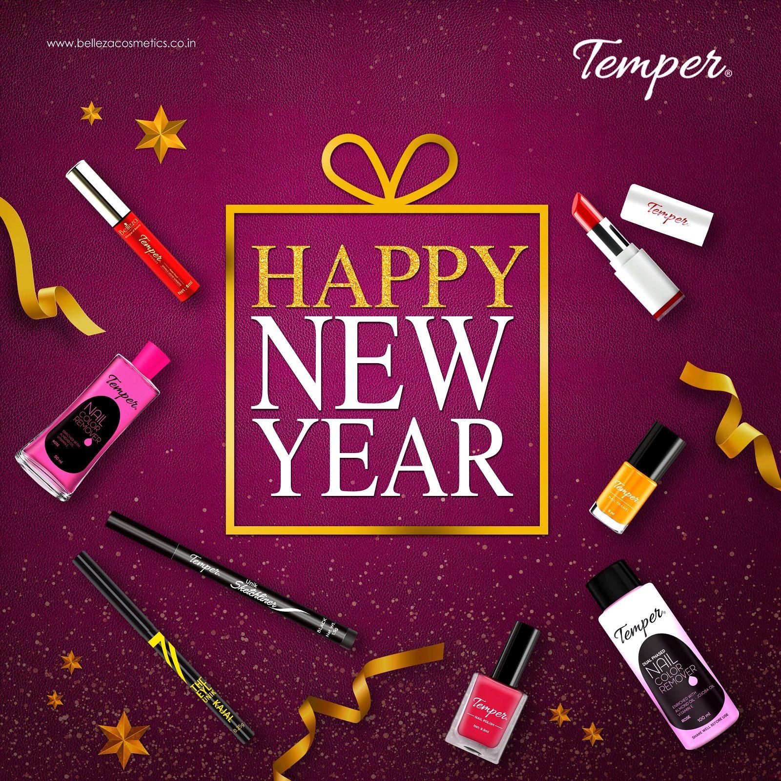 HAPPY NEW YEAR bellezacosmetics HappyNewYear