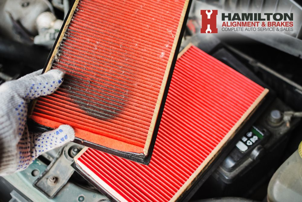 Unfortunately, air filters get clogged and need to be