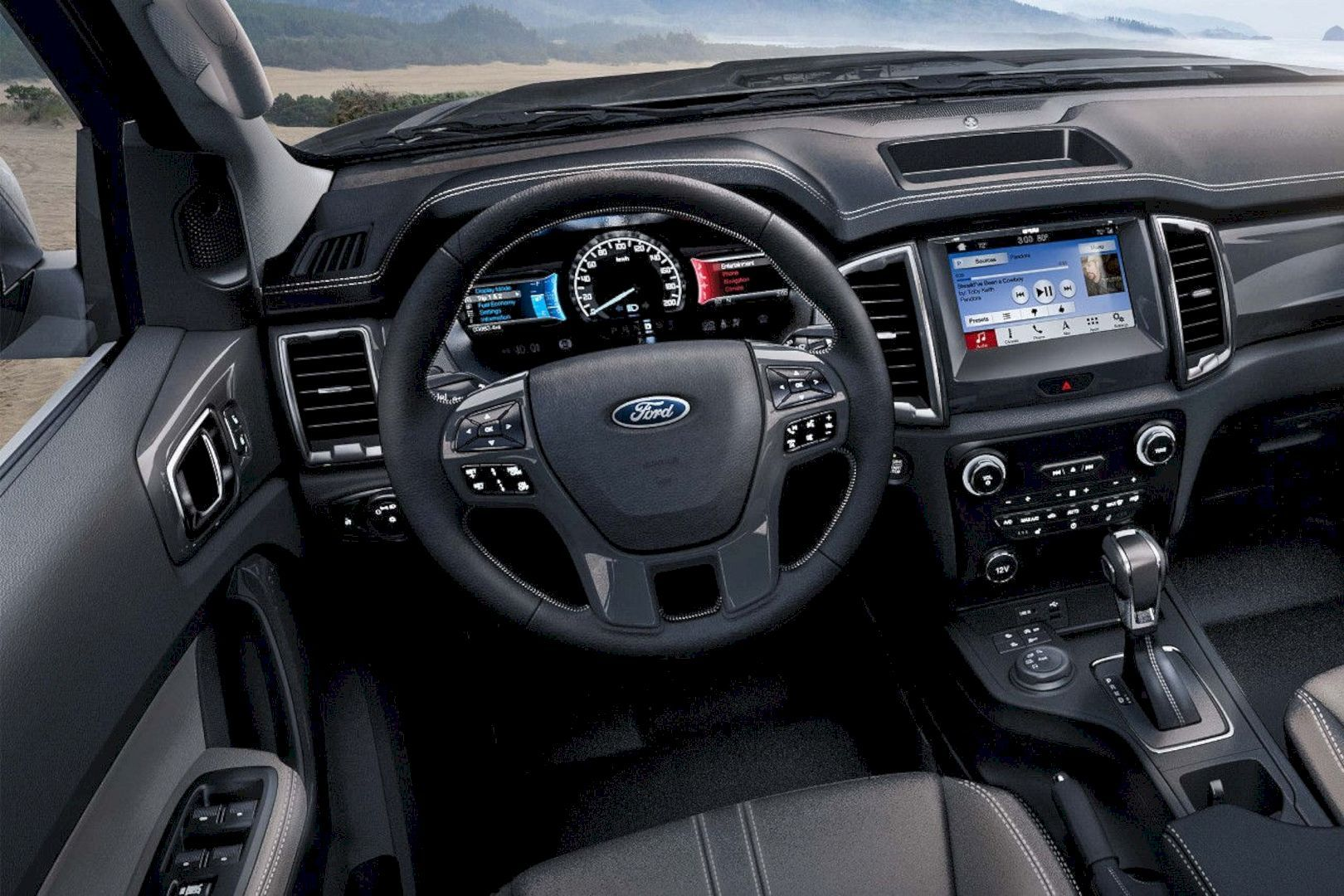 Limit Is The Sky With The All New Ford Ranger 2019 2020 Ford Ranger Ford Ranger Interior Ford Ranger