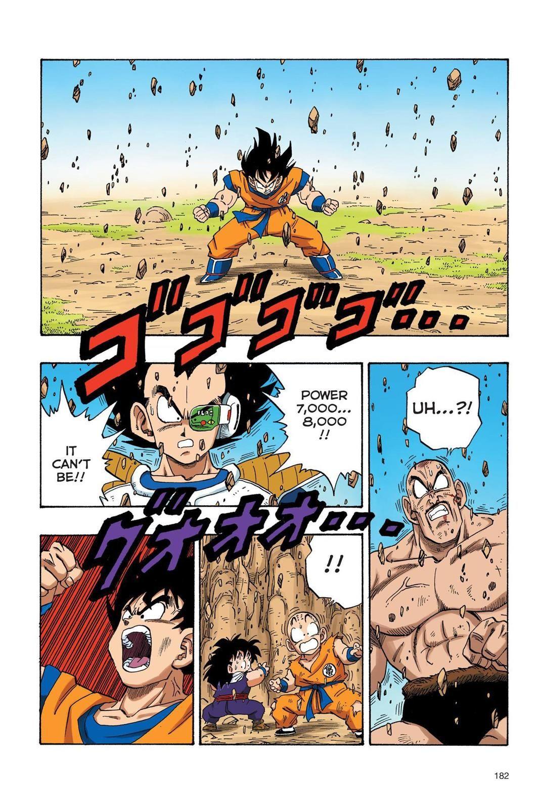 Dragon Ball Full Color Saiyan Arc Chapter 30 In 2020 Anime Dragon Ball Dragon Ball Super Manga Dragon Ball Art