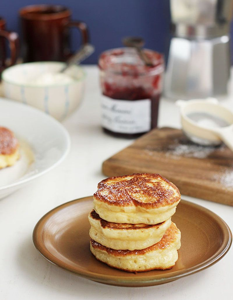 Racuszki! Yeasted Polish Pancakes Recipe Breakfast
