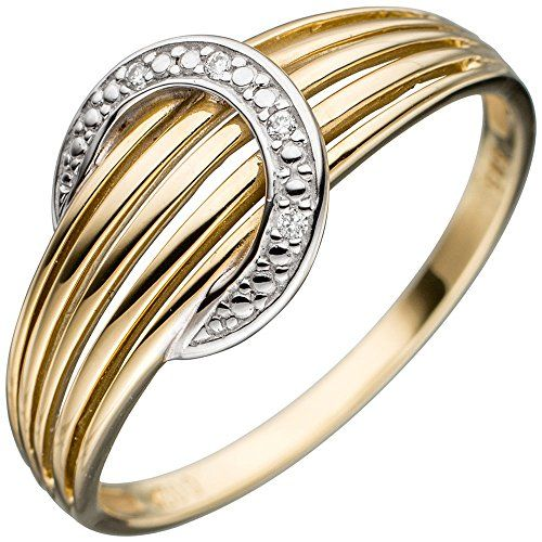 Damen-Ring 4 Diamant-Brillanten 14 Karat (585) Gelbgold 0.02 ct. 60 (19.1) Dreambase http://www.amazon.de/dp/B0147RVLH2/?m=A37R2BYHN7XPNV