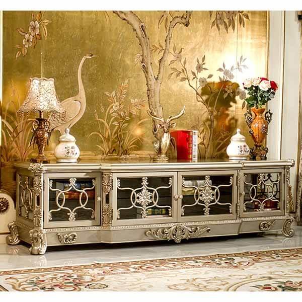 Luxury Tv Cabinet With Doors 5237