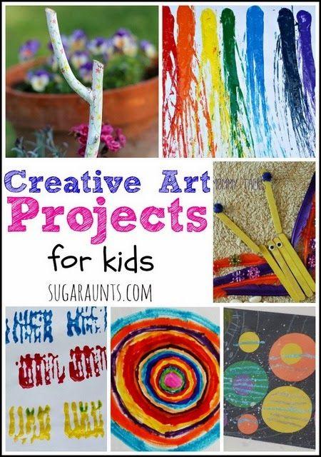 Creative Art Ideas For Kids Kid Blogger Network Activities