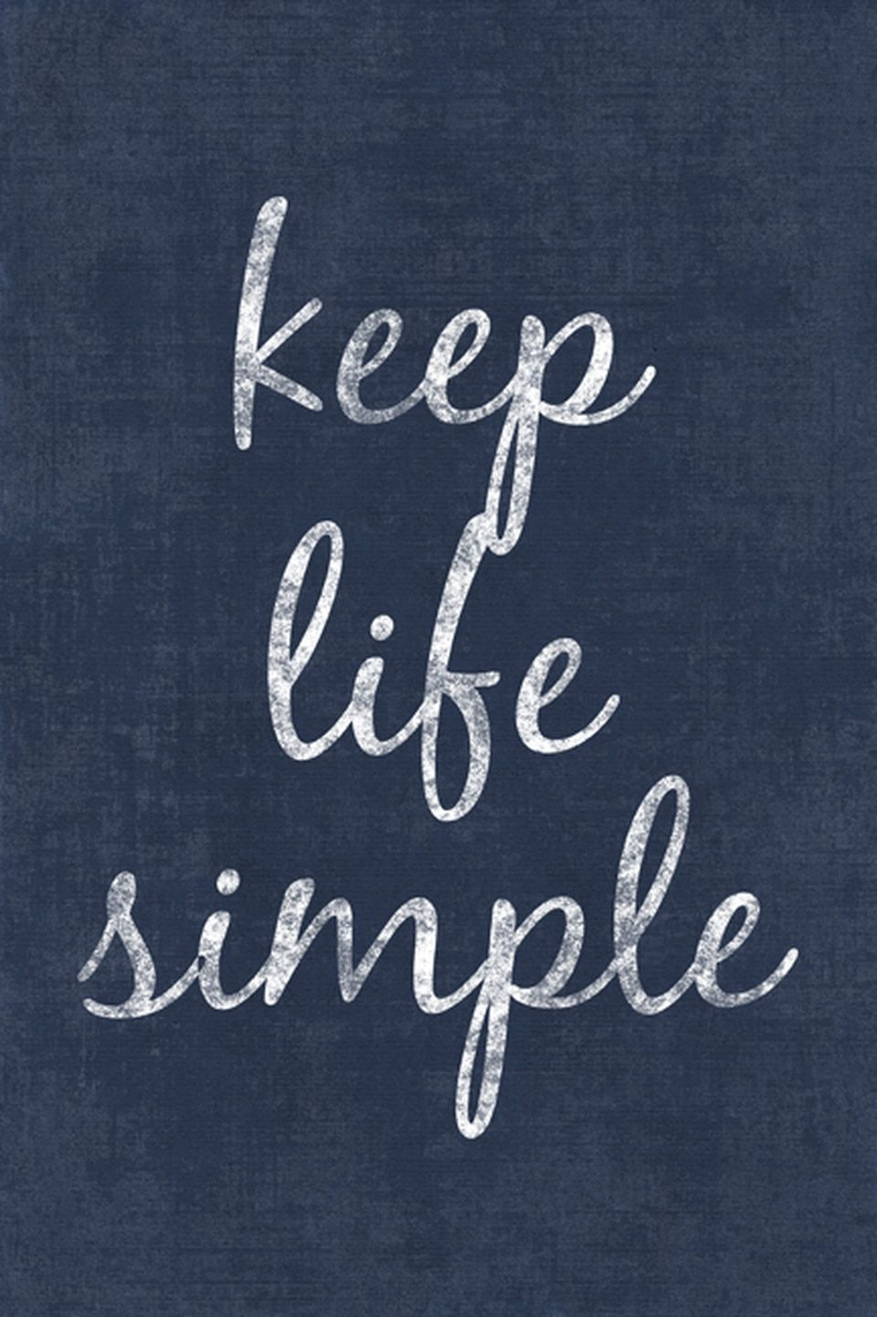 Keep Life Simple Motivational Poster Print In 2020 Keep Life Simple 7 Rules Of Life Motivational Posters