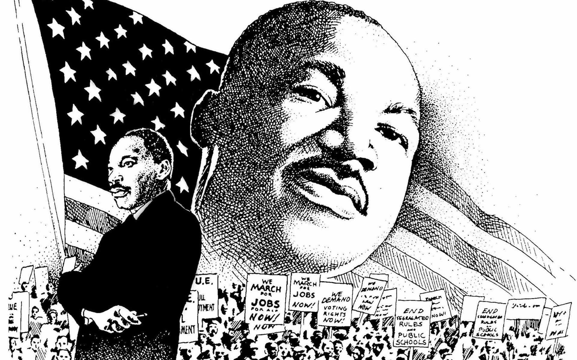 Martin Luther King Day Program Drop Off Your Art Drawings