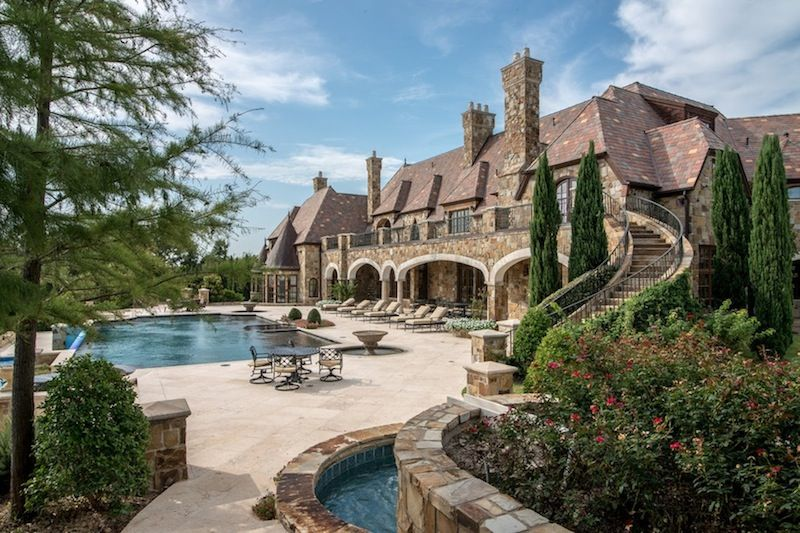 Majestic french ch teau in texas 151 homes pinterest for Luxury french chateau