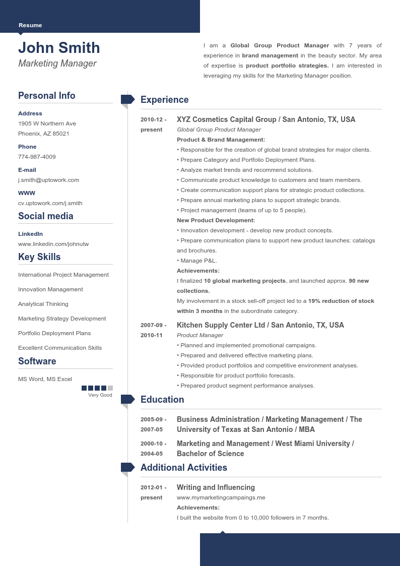+20 Professional Resume Templates Create Your Resume in 5