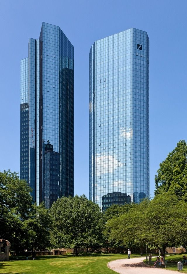 Deutsche Bank Ag Is A German Multinational Investment Bank And Financial Services Company Headquarte Am Architecture Bank Banki 2020 Mimari Finans