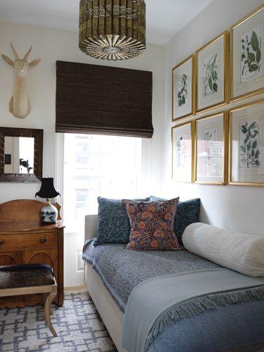 West Village Townhouse Elizabeth Bauer Design Bedrooms