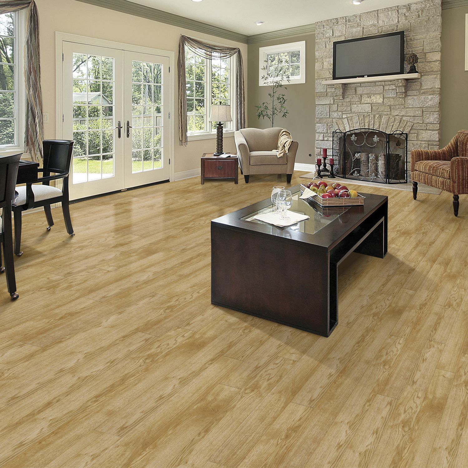 Select Surfaces Classic Oak Laminate Flooring Oak Laminate Flooring Flooring Laminate Flooring