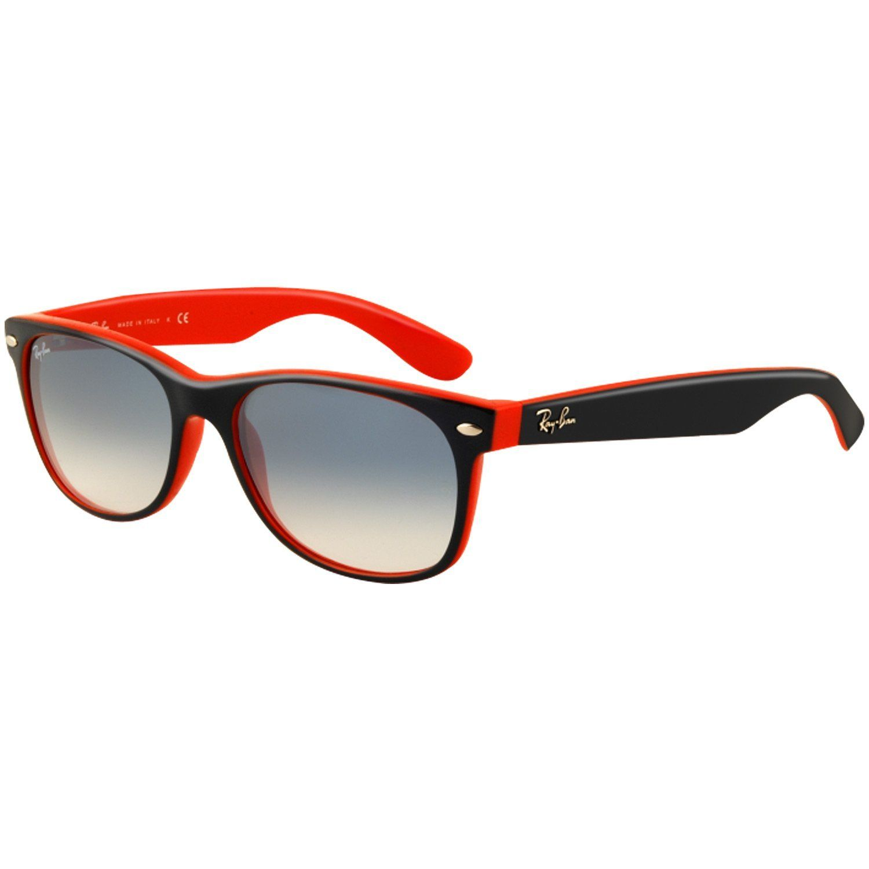 Ray-Ban RB2132 New Wayfarer Sunglasses,52 mm,BLUE GRADIENT   Fathers ... 4cc779dde222