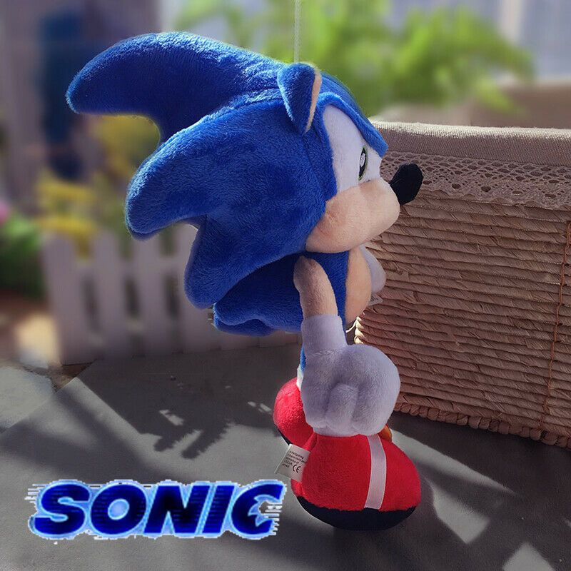 2020 New Sonic Movie Plush Toys Doll Blue Soft Stuffed Toy For Children Gift Unbranded In 2020 Sonic Plush Toys Plush Toy Dolls Kids Toys