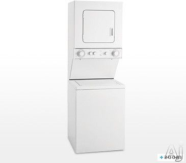 Whirlpool Lte5243dq 24 Thin Twin Electric Laundry Center With 5