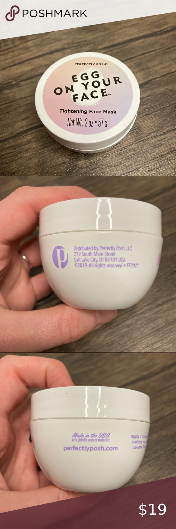 Photo of Perfectly Posh Egg on Your Face Tightening Mask
