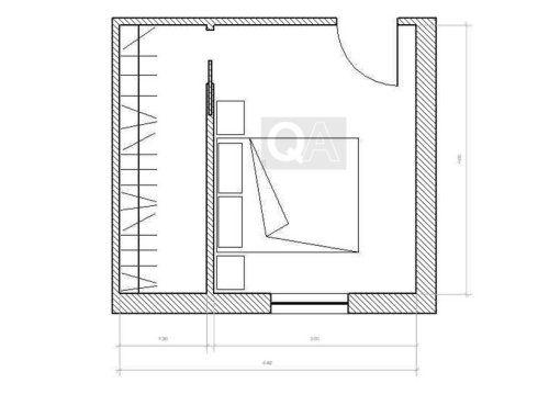 Risultati immagini per misure minime per cabina armadio   casa ecc ...