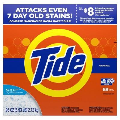 Tide Turbo Original High Efficiency Powder Laundry Detergent