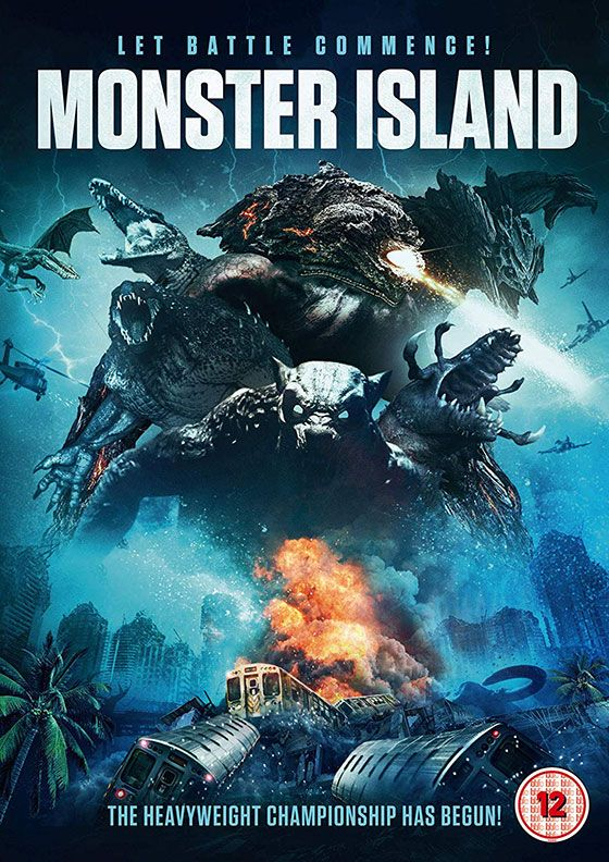 Monster Island DVD Review Island, B movie, Monster