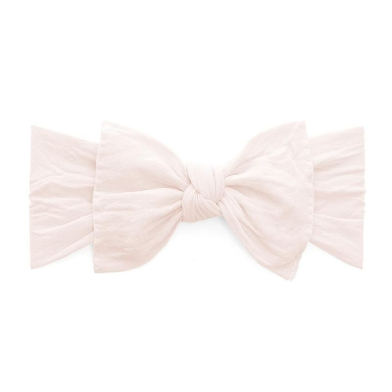 Knot Ballet Pink Baby Bling Bows Knotted Baby Headband Knot Headband