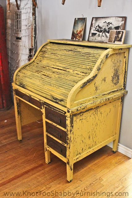 Ok seriously??? How fabulous is this!!! MMSMP Mustard Seed Yellow by knot too shabby: Milk Paint Eye Candy