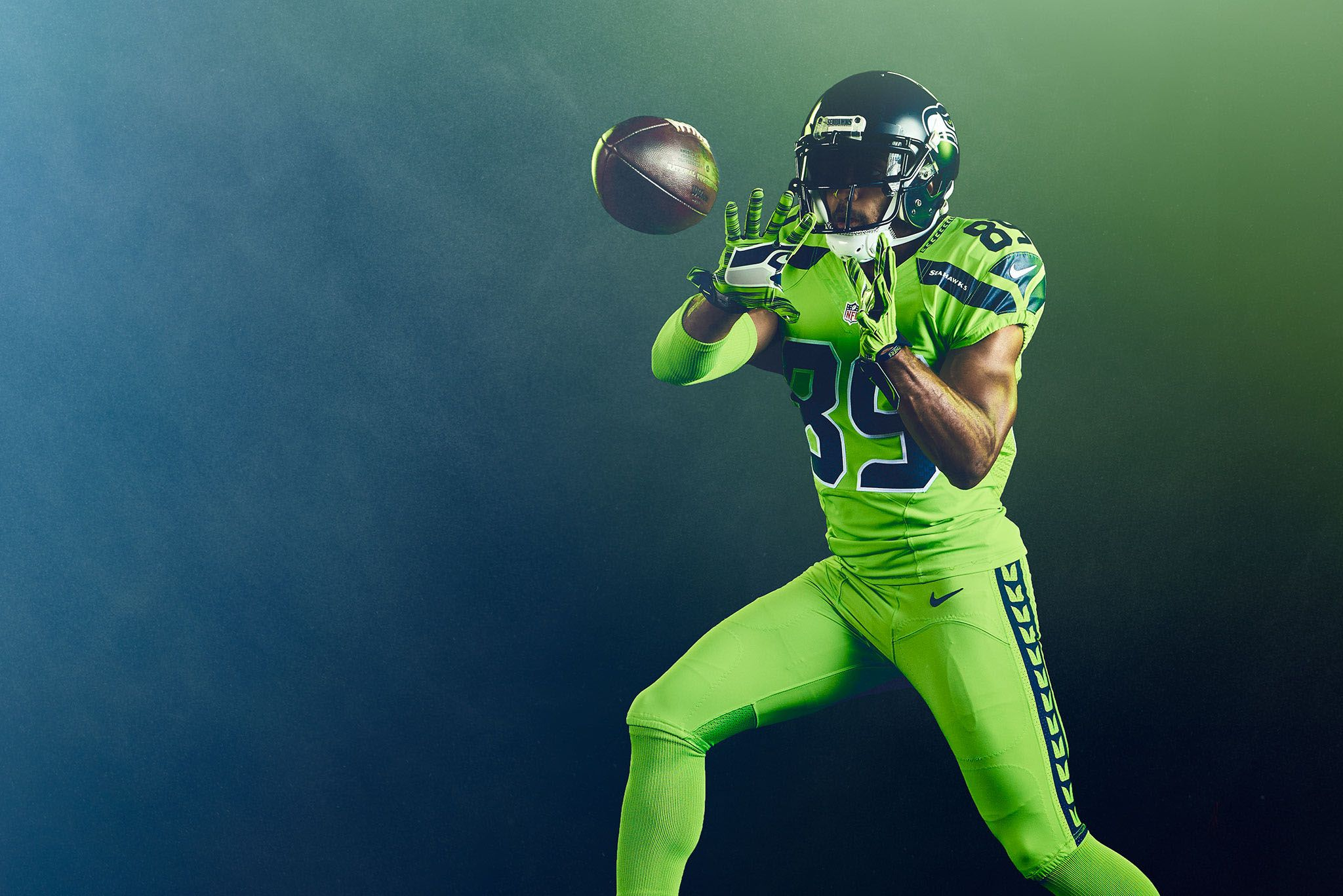 timeless design edf7b 5e08e Seattle Seahawks - Color Rush on Behance | Creative ...