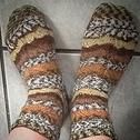 Knitted socks $25