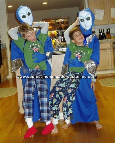 coolest homemade monster and alien abduction costume ideas and photos - Homemade Halloween Ideas