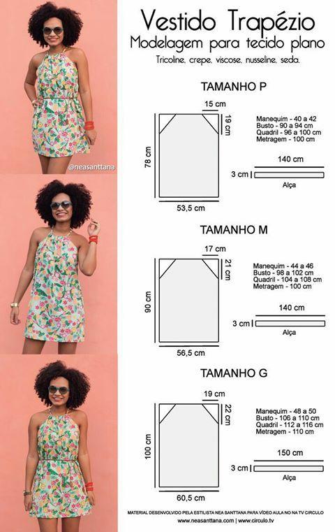Pin by Nia Barragán on Patrones De Costura | Pinterest | Sewing ...