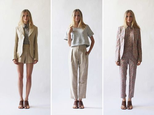 Variations on the traditional suit #fashion DailyCandy
