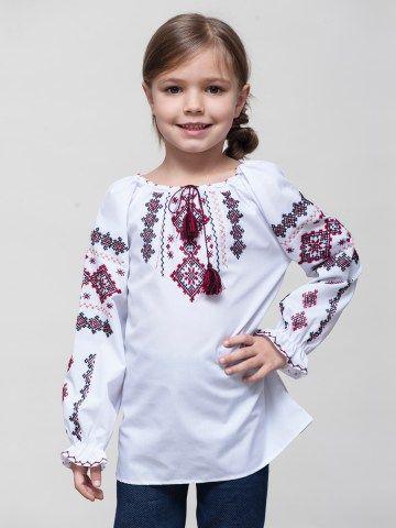 Вишиванки для дівчаток – купити вишиванку для дівчинки в Києві та Україні 1f52daf2f960d