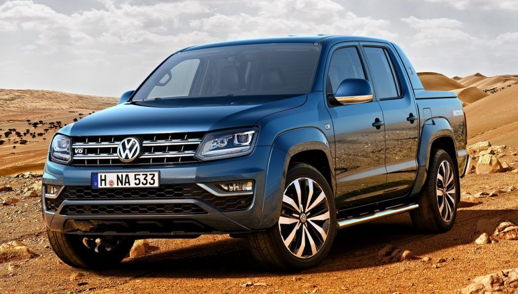 Vw Amarok Based 7 Seat Suv Confirmed Vw Amarok Volkswagen Vw