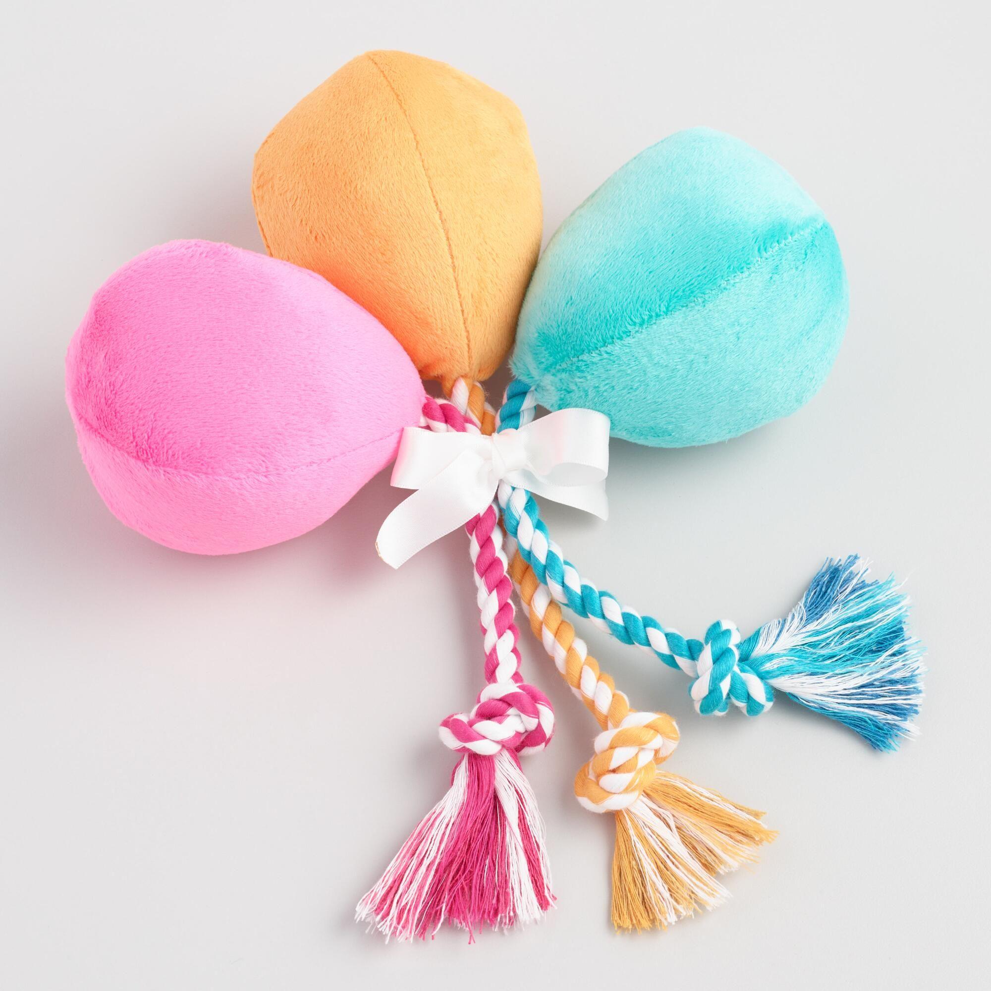 Birthday Balloons Hair Bow Set