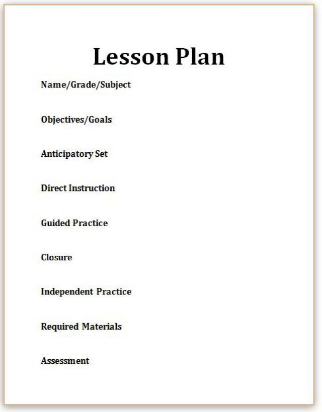 Hereu0027s What You Need to Know about Lesson Plans Kindergarten - sample kindergarten lesson plan template