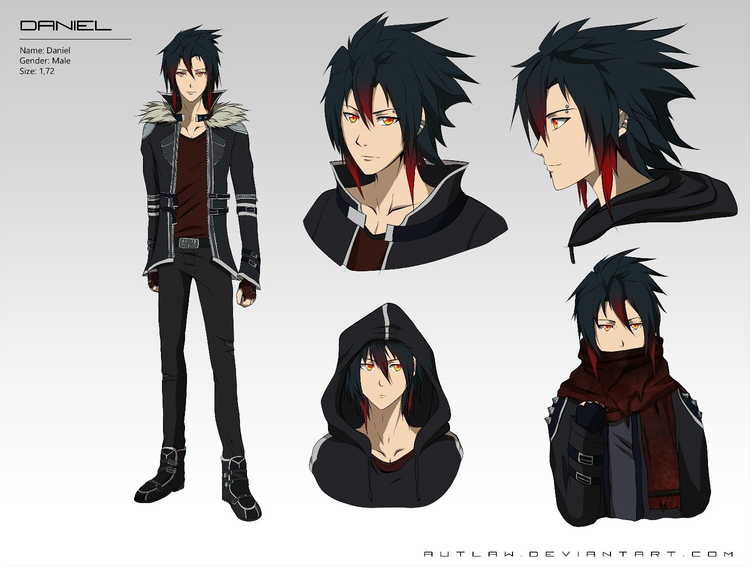 Anime Vampire Boy Cool