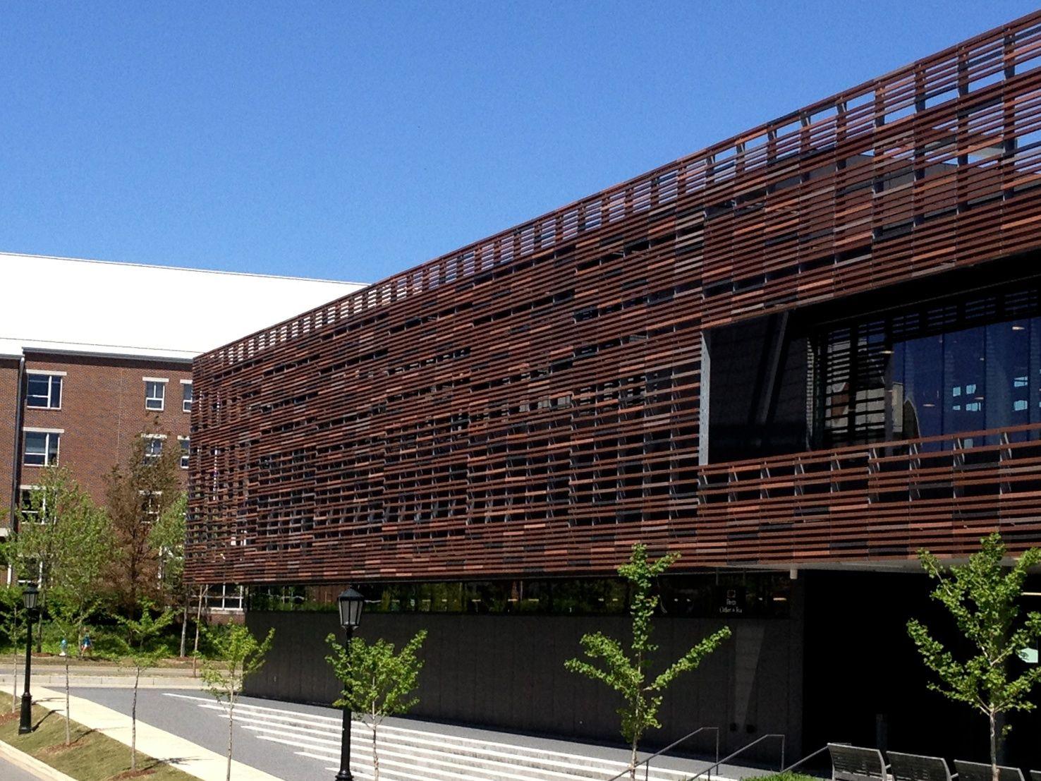 07_Garland Architecture, Parking design, Shop facade