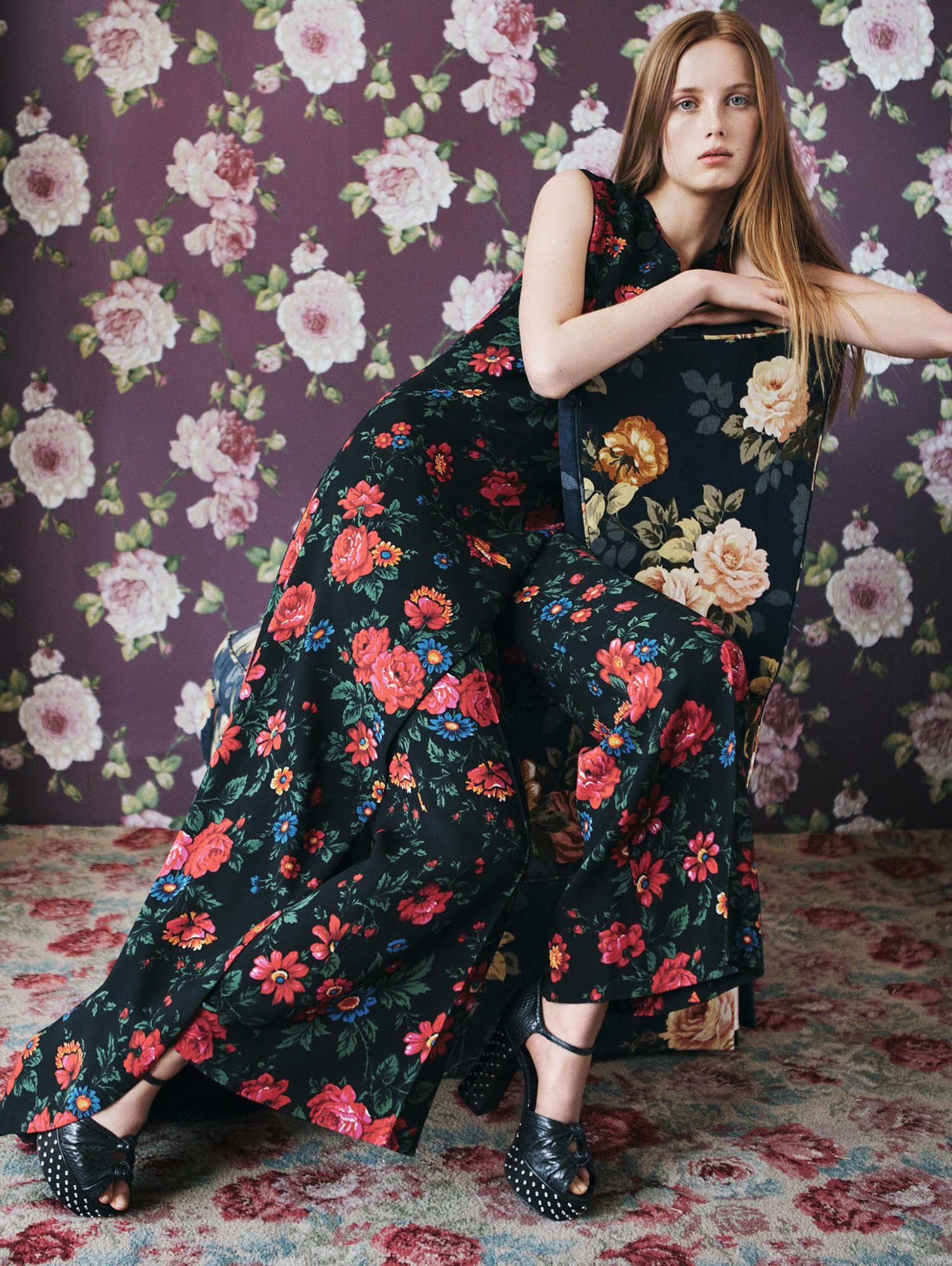 Rianne van Rompaey by Daniel Jackson for Vogue China April 2015