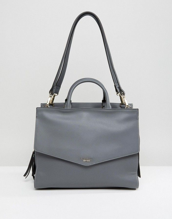 391f0abd1b4 Chic Classy City Gray Handbag - Great for business, work, and professional  style bag accessories - Fiorelli Mia Large Grab Bag - ASOS -