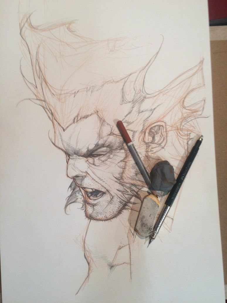Wolverine Lucca 2014 commission by simonebianchi on deviantART