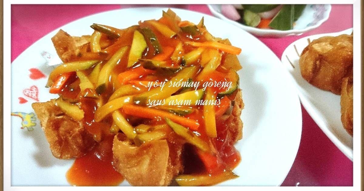 Resep Siomay Goreng Saus Asam Manis Oleh Yny Resep Makanan Resep Timun