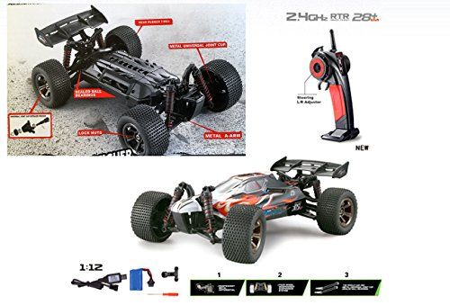 FMTStore 1/12 Scale Offroad High Speed Radio Remote Controlled Off - halloween decorations for your car