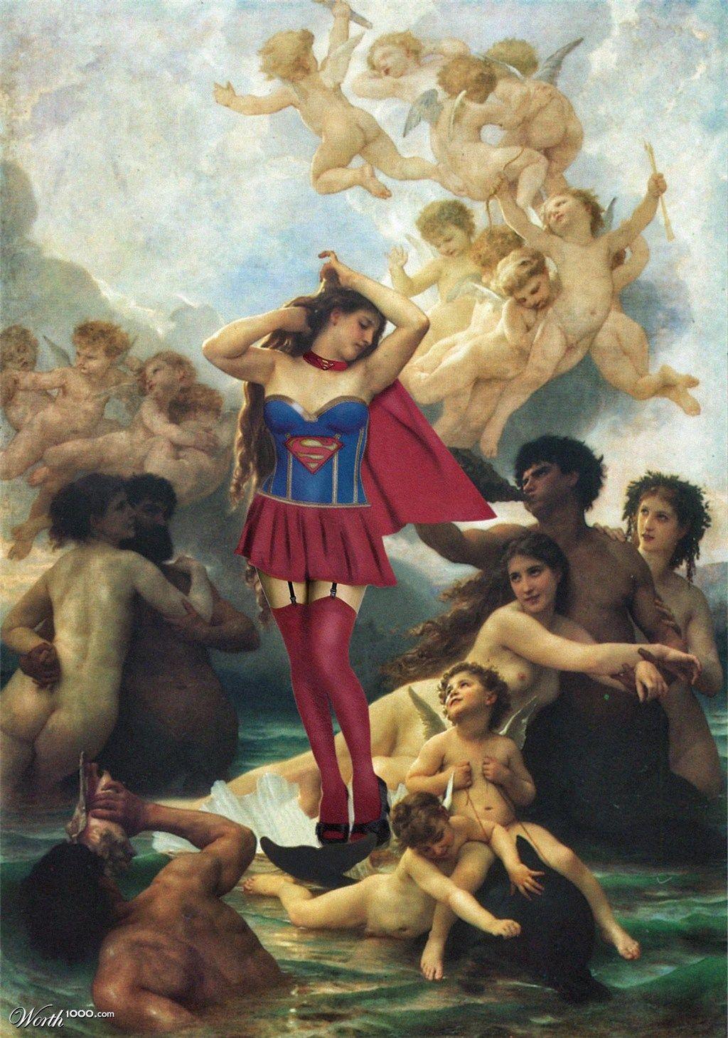 Birth of Venus on Behance